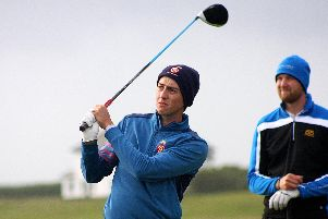 Hampshire golfer Billy McKenzie Picture: Andrew Griffin