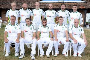 Emsworth, who are vying for the Hampshire League division three south title. Picture: Kate Shemilt (180345-1)