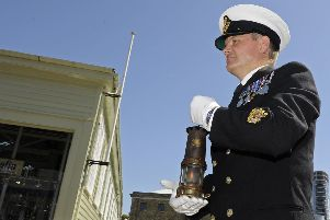 Lamplight of Peace arrives in Portsmouth ahead of Remembrance commemorations