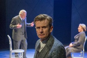 Copenhagen by Michael Frayn at Minerva Theatre, Chichester. Picture by Conrad Blakemore.