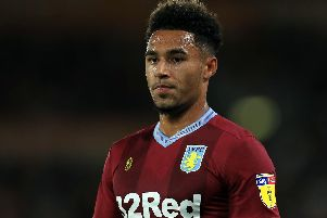 Aston Villa's Andre Green is set to move to Portsmouth. Picture: PA Wire/PA Images