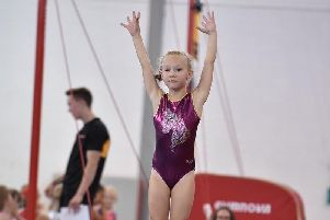 The Portsmouth Gymnastics Club novice festival