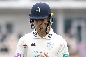Hampshire wicketkeeper Lewis McManus. Picture: Neil Marshall