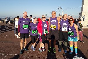 Participants from Verwood Running Club