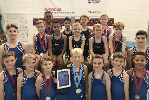 Portsmouth gymnasts have been in excellent form