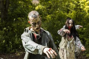 Cheryl struck lucky with zombies this year.