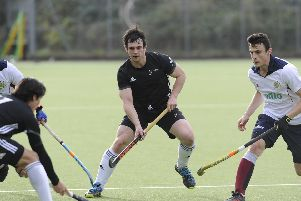 Fareham take on Olton & West Midlands. Jack Gilbert. Picture Ian Hargreaves (181104-1_hockey)