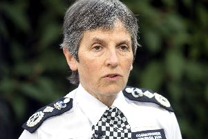 Metropolitan Police Commissioner Cressida Dick, who has backed a drive to focus on violent offenders rather than recording incidents of misogyny that are not crimes