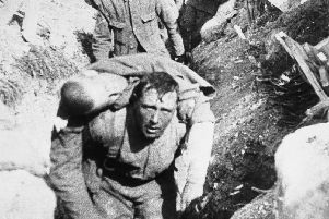 A still from the Imperial War Museum 1916 film, The Battle of the Somme by Geoffrey Malins and J B McDowell.