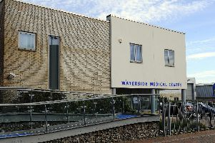 The Waterside Medical Centre in Mumby Rd, Gosport'Picture: Malcolm Wells (170220-7413)