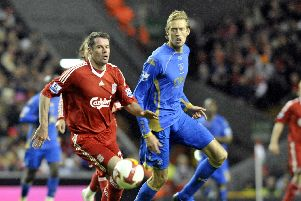 Peter Crouch rejoined Pompey from Liverpool in July 2008.