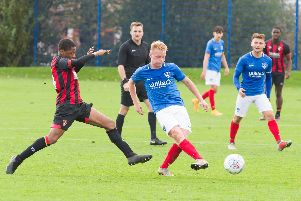 Pompey Academy midfielder James Whiting.'Picture: Duncan Shepherd