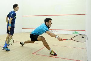 Rui Soares has twice suffered defeat to Ben Coleman in the Solent Classic final. Picture: Paul Jacobs (151698-7)