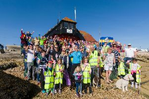 The News and The Final Straw Solent have organised the Great Solent Beach Clean, in association with the Marine Conservation Society. Picture: Duncan Shepherd