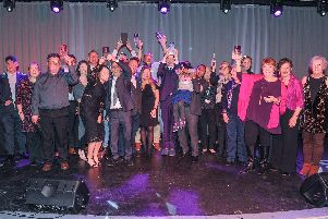 We can do it awards 2018 held at the Gaiety Bar, Southsea. All the winners from the night. Picture: Habibur Rahman