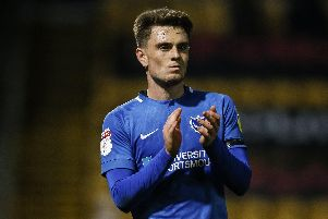 Ben Thompson is currently on a season-long loan from Millwall Picture: Daniel Chesterton