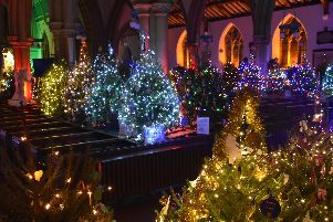 The Alverstoke Christmas Tree Festival.