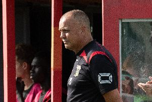 Fareham boss Pete Stiles. Picture: Keith Woodland
