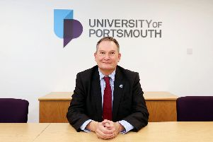 Vice-chancellor of the University of Portsmouth, Prof Graham Galbraith.