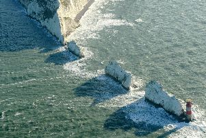 The Needles, Isle of Wight. Picture: Sarah Standing (180830-372)