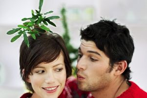 Blaise Tapp would like to see more kissing under mistletoe - and people sending Christmas cards