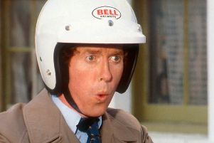Ooooh Betty! Classic Beeb comedy with Michael Crawford in Some Mothers Do 'Ave 'Em.