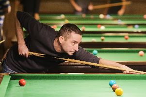 26/11/2017 (sport)''Snooker - Craneswater Cup, Craneswater Snooker Club, Albert Road, Southsea.''Pictured is: Ian Carter''Picture: Neil Marshall (171341-14)