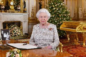 Next year, might she play God Save The Queen on that piano? One hopes so.