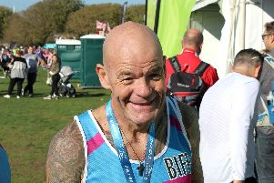 Biff Pearce has taken part in the Great South Run to raise funds for the Rowans Hospice. Read his story at silverjubilee.rowanshospice.co.uk