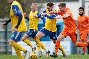 Gosport Borough have been in good form at home but struggling away. Picture: Chris Moorhouse
