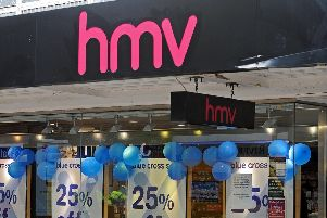 The old HMV store in Commercial Road, Portsmouth.