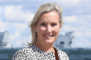 Gosport MP Caroline Dinenage