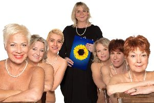 Calendar Girls will be at the Mayflower Theatre, Southampton, until January 19.