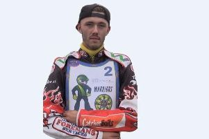 Georgie Wood. Isle of Wight Warriors speedway