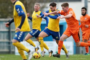 Gosport Borough will be fired up for the match with Farnborough. Picture: Chris Moorhouse