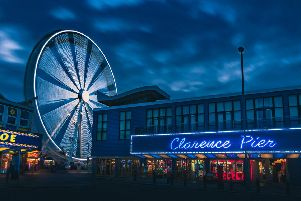 Clarence Pier and Solent Wheel. Picture: Andy Hornby