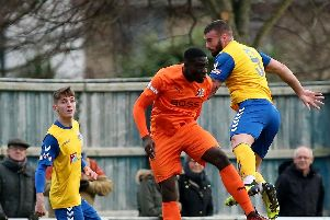 Gosport Borough will have Sam Roberts available for the key match against Weymouth. Picture: Chris Moorhouse