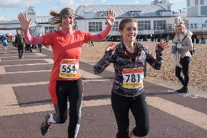 The Portsmouth Coastal Half Marathon race is back on Sunday. Picture: Vernon Nash (180056-20)