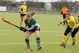 Leah Payne competing for Havant Ladies second team against Romsey. Picture: Duncan Shepherd
