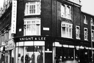 Here we see one of the Knight & Lee stores which were spread all over Southsea after the war. This one is in Elm Grove.  Photo: Barry Cox collection.