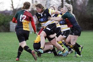 Sophy Roseaman helped Portsmouth Valkyriesto victory against Guernsey Ladies. Picture: Chris Moorhouse