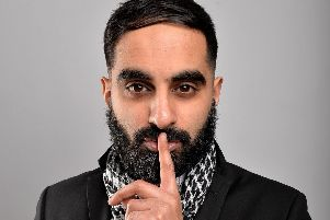 Tez Ilyas is performing at the Spinnaker Comedy Club over Valentine's. Picture by Steve Ullathorne