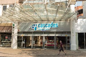 Cascades Shopping Centre. Picture: Keith Woodland