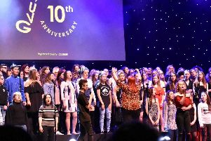 Urban Vocal Group in Portsmouth recently celebrated its 10th anniversary. Picture: Supplied