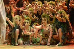 Mayfield School, in Portsmouth, performing during the 2018 Rock Challenge. Photo: Nick Scott Photography