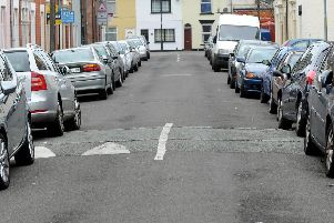 Residents parking in Bramble Road, Southsea, part of the MC residents' parking zone