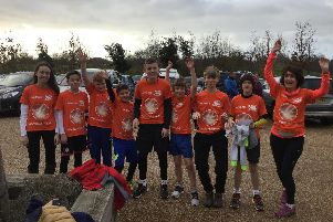 The Agile Supernova team after completing the Fareham Parkrun on Saturday. Picture: Liz Stoneham