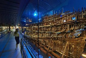 The Mary Rose Museum will be revealing a new, never-before-seen piece of the doomed Tudor warship in Portsmouth.