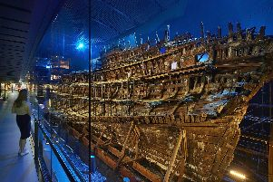 Doomed Tudor warship The Mary Rose, which is at The Mary Rose Museum in Portsmouth.