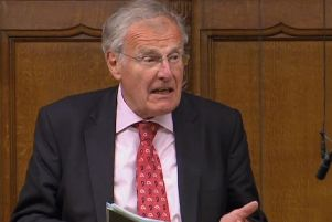 Sir Christopher Chope MP. Picture: PA Wire